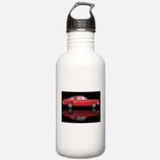 Very Fast Red Car Water Bottle