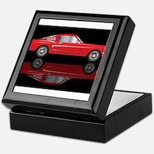 Very Fast Red Car Keepsake Box
