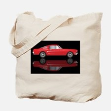 Very Fast Red Car Tote Bag