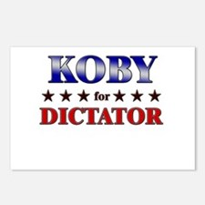 KOBY for dictator Postcards (Package of 8)