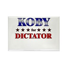 KOBY for dictator Rectangle Magnet