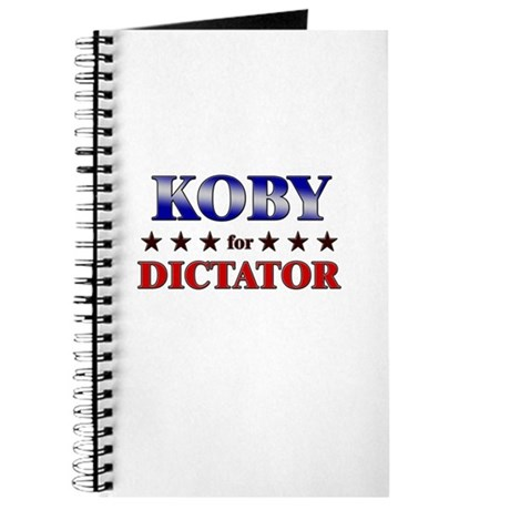 KOBY for dictator Journal