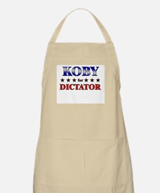 KOBY for dictator BBQ Apron