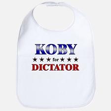 KOBY for dictator Bib
