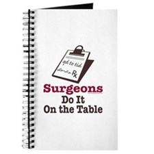 Funny Doctor Surgeon Journal