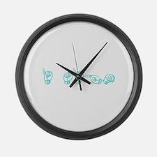 I SIGN Large Wall Clock