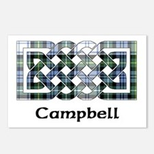 Knot-Campbell dress Postcards (Package of 8)