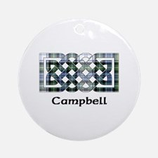 Knot-Campbell dress Round Ornament