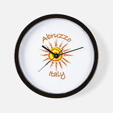 Abruzzo, Italy Wall Clock