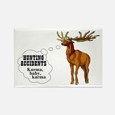 Hunting accidents Rectangle Magnet