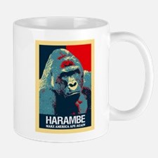 Harambe: Make America Ape Again Mugs