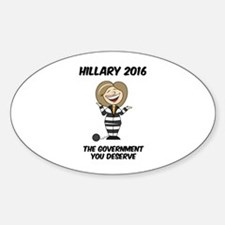 Anti-Hillary Decal