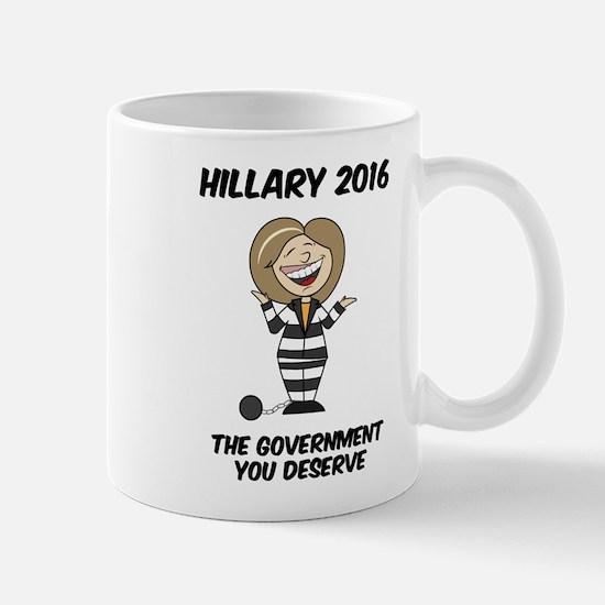 Anti-Hillary Mugs