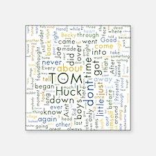 Tom Sawyer Word Cloud Sticker