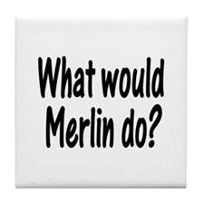 Merlin Tile Coaster
