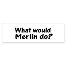 Merlin Bumper Bumper Sticker