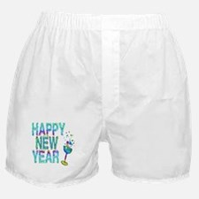 Happy New Year 1 & 2 - Boxer Shorts