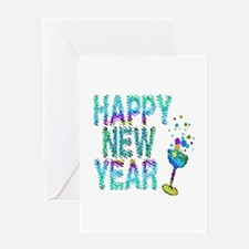 Happy New Year 1 & 2 - Greeting Card