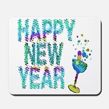 Happy New Year 1 & 2 - Mousepad