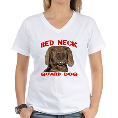 Red Neck Guard Dog Shirt