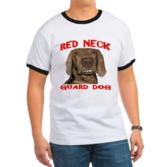 Red Neck Guard Dog T
