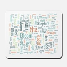 Ulysses Word Cloud Mousepad