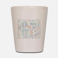 Ulysses Word Cloud Shot Glass