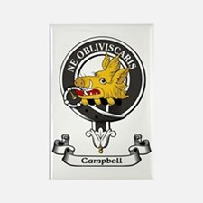 Badge - Campbell Rectangle Magnet