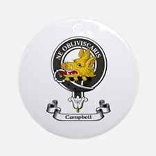 Badge - Campbell Ornament (Round)