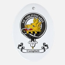 Badge - Campbell Ornament (Oval)