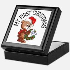 My 1st Christmas Bear Keepsake Box