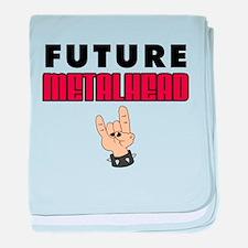 Future Metalhead baby blanket