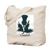 Campbell clan Regular Canvas Tote Bag