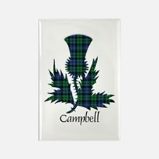Thistle - Campbell Rectangle Magnet