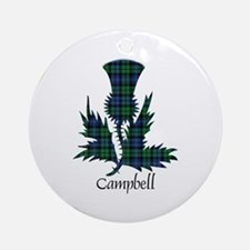 Thistle - Campbell Ornament (Round)