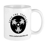 Save The Turtles Logo Mug