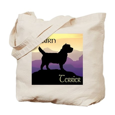 Cairn Terrier Purple Mt. Tote Bag