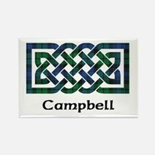 Knot - Campbell Rectangle Magnet