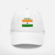 India Baseball Baseball Cap