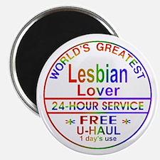 Greatest Lesbian Lover - Magnet