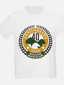 Wildlife Waystation 40th Ann T-Shirt