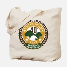 Wildlife Waystation 40th Ann Tote Bag