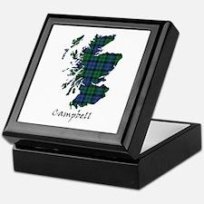Map - Campbell Keepsake Box