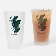 Map - Campbell Drinking Glass