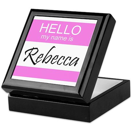 Rebecca Keepsake Box
