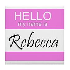Rebecca Tile Coaster