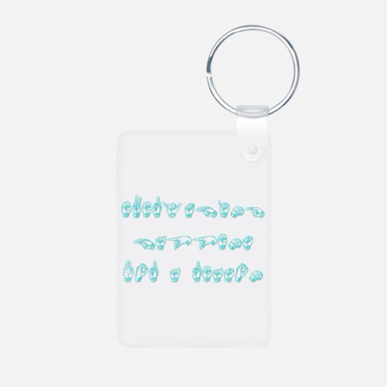 Everything happens for a reason Keychains