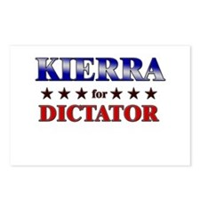 KIERRA for dictator Postcards (Package of 8)