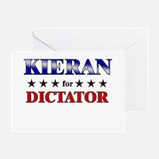 KIERAN for dictator Greeting Card