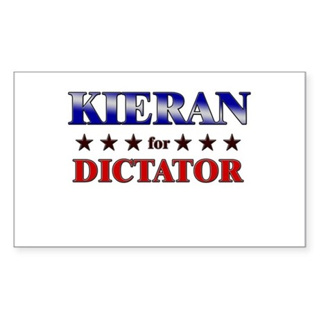 KIERAN for dictator Rectangle Sticker